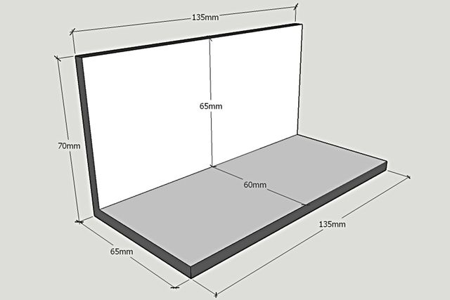 Dimensions diorama Serge et Jane - 1:64 | 3inch