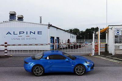 Diorama Alpine Usine de Dieppe - 1:43